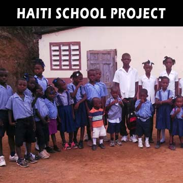 Haiti School Reconstruction after Hurricane Mathew