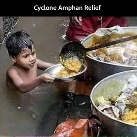 CYCLONE  AMPHAN RELIEF