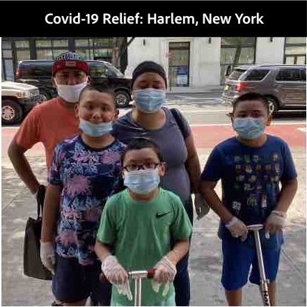 Covid-19 Relief: Harlem, New York